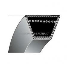 Trapecinis eigos diržas vejapjovėms Z25,5 10x650mm Li, 10x688mm La
