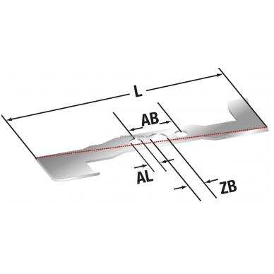 Vertikuliatoriaus peilis MTD 91 mm V40, TSV40, V41, V42, VFS42 2