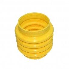 Apsauga vibro kojos  145x145x200 mm CPU geltona