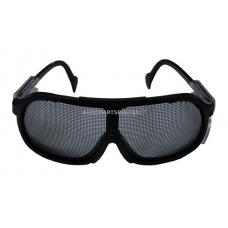 Apsauginiai akiniai su tinkleliu