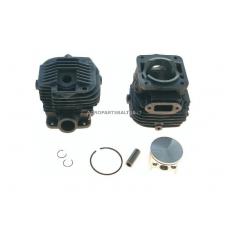 Cilindro komplektas su stūmokliu Dolmar išmatavimai cilindro mm 47, modeliams: PC