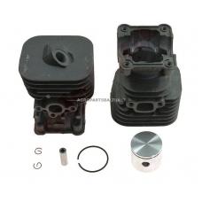 Cilindro komplektas su stūmokliu Husqvarna, išmatavimai cilindro mm 35, modeliams: 125