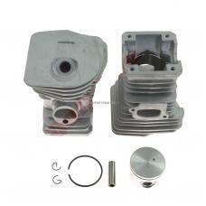 Cilindro komplektas su stūmokliu Husqvarna, išmatavimai cilindro mm 44, modeliams: 350 H