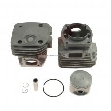 Cilindro komplektas su stūmokliu Husqvarna, išmatavimai cilindro mm 48, modeliams: 365, 365 Special