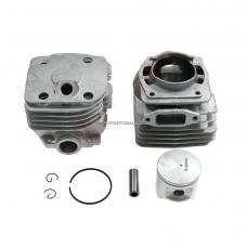 Cilindro komplektas su stūmokliu Husqvarna, išmatavimai cilindro mm 48, modeliams: 365