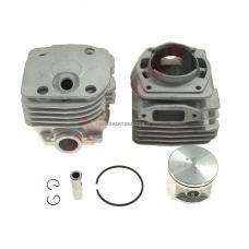 Cilindro komplektas su stūmokliu Husqvarna, išmatavimai cilindro mm 50, modeliams: 372