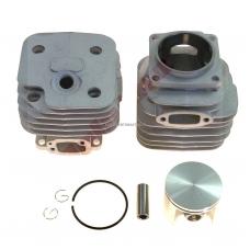 Cilindro komplektas su stūmokliu Husqvarna, išmatavimai cilindro mm 52, modeliams: 272,272K,272XP
