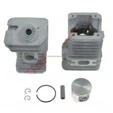 Cilindro komplektas su stūmokliu Jonsered, išmatavimai cilindro mm 40, modeliams: 2041,GR41,GR41 EPA,RS41