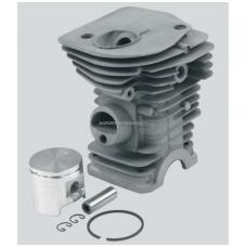 Cilindro komplektas su stūmokliu Jonsered, išmatavimai cilindro mm 40, modeliams: 2141, CS2141, CS2141S