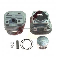 Cilindro komplektas su stūmokliu kinietiškiems pjūklams, išmatavimai cilindro mm 45,2mm 58cc DUAL