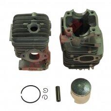 Cilindro komplektas su stūmokliu kiniškiems pjūklams 34 mm 25cc
