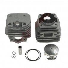 Cilindro komplektas su stūmokliu kiniškiems pjūklams 43 mm 45cc