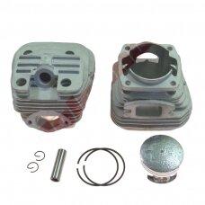 Cilindro komplektas su stūmokliu kiniškiems pjūklams 45 mm 52cc DUAL