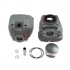 Cilindro komplektas su stūmokliu kiniškiems pjūklams 45 mm 58cc