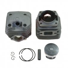 Cilindro komplektas su stūmokliu kiniškiems pjūklams 45,2 mm 58cc