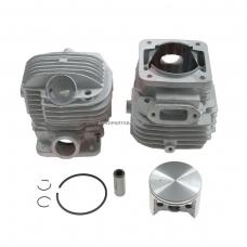 Cilindro komplektas su stūmokliu Makita, išmatavimai cilindro mm 52, modeliams: DCS 6401, 7301, 7901