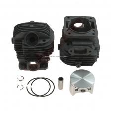 Cilindro komplektas su stūmokliu Makita, išmatavimai cilindro mm 54, modeliams: DCS 6401, 7301, 7901 NIKASIL