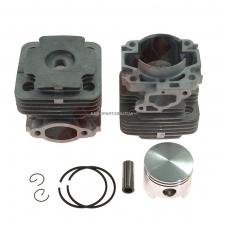 Cilindro komplektas su stūmokliu Oleomac 755, išmatavimai cilindro mm 45