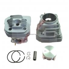 Cilindro komplektas su stūmokliu Oleomac, išmatavimai cilindro mm 48, modeliams: 956