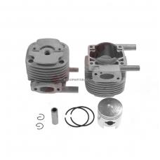 Cilindro komplektas su stūmokliu Shindaiwa B45, GP45, GP450, RC45, išmatavimai cilindro mm 40