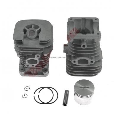 Cilindro komplektas su stūmokliu Partner, išmatavimai cilindro mm 38, modeliams: 350, 351, 370, 390, 420.