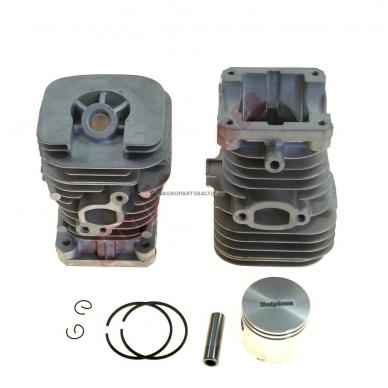 Cilindro komplektas su stūmokliu Partner 351, išmatavimai cilindro mm 43