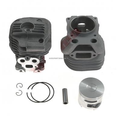 Cilindro komplektas su stūmokliu Partner K750, išmatavimai cilindro mm 51
