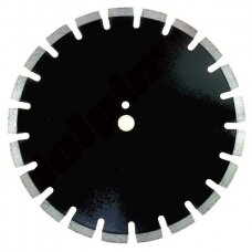Deimantinis segmentinis pjovimo diskas asfaltui HF 370x25,4/20mm 15x3,2mm
