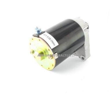 Elektrinis starteris Briggs & Stratton dviejų cilindrų varikliams, krumpliaratis su 16 dantų, nuo 14AG iki 18AG 394808, 497596, 5407H, 393017, 394674, LG497596, SA26497, AM38984, AM39287 5