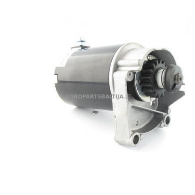 Elektrinis starteris Briggs & Stratton dviejų cilindrų varikliams, krumpliaratis su 16 dantų, nuo 14AG iki 18AG 394808, 497596, 5407H, 393017, 394674, LG497596, SA26497, AM38984, AM39287 6