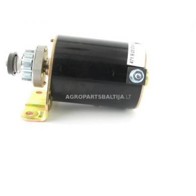Elektrinis starteris Briggs & Stratton varikliams, krumpliaratis su 14 dantų, nuo 7AG iki 18AG 693551, 693552, LG693551 2