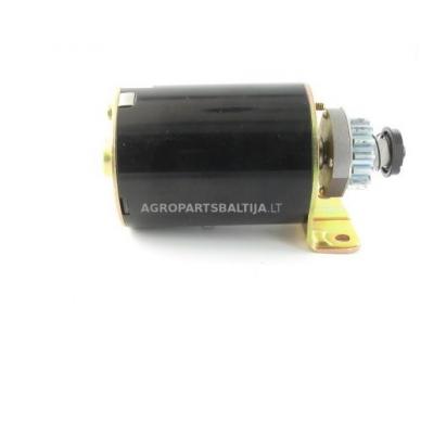 Elektrinis starteris Briggs & Stratton varikliams, krumpliaratis su 14 dantų, nuo 7AG iki 18AG 693551, 693552, LG693551 7