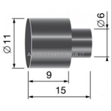 Įvorė troso 9,5 mm
