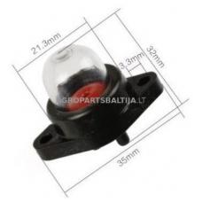 Karbiuratoriaus pompa Walbro išmatavimai mm: 35x22x21x3,4