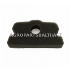 Oro filtras Alpina P 400, 450, 500 išmatavimai: 117 x 25 x 53 mm