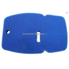 Oro filtras gamintojui Partner K1250 išmatavimai: 258x165x21