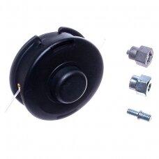 Pjovimo galva universali krūmapjovėms pusiau automatinė 109,00 mm M8x1,25 mm, M8x1,25 mm, M10x1,00 mm