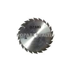 Pjovimo peilis žoliapjovėms 230 x 25,4 x 1,8 mm 22 dantys