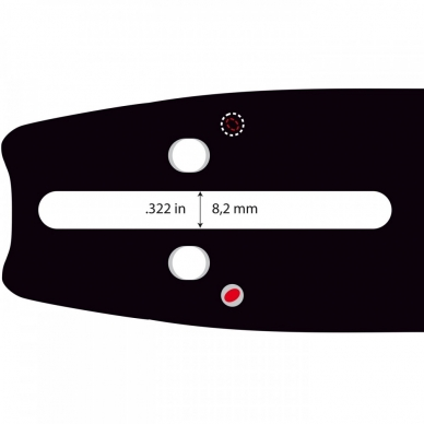 "Pjovimo juosta CRT .325"" 1,5 mm, 38 cm / 15"" 158SLGK095 64 nareliai. 2"