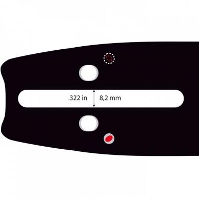 "Pjovimo juosta Dolpima .325"" 1,5 mm, 38 cm / 15"" 158SLGK095 64 nareliai.  2"
