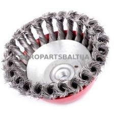 Šepetys žoliapjovėms universalus metalinis. Skylė 25 mm