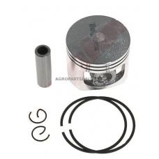 Stūmoklio komplektas kinietiškiems pjūklams, išmatavimai cilindro mm 45,2, modeliams: 58cc
