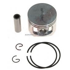 Stūmoklio komplektas kinietiškiems pjūklams, išmatavimai cilindro mm 46, modeliams: 58cc dual