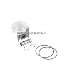 Stūmoklio komplektas kinietiškoms žoliapjovėms, išmatavimai cilindro mm 44, modeliams: 50cc