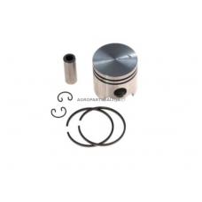 Stūmoklio komplektas kinietiškoms žoliapjovėms, išmatavimai cilindro mm 44, modeliams: 52cc TL52, CG520
