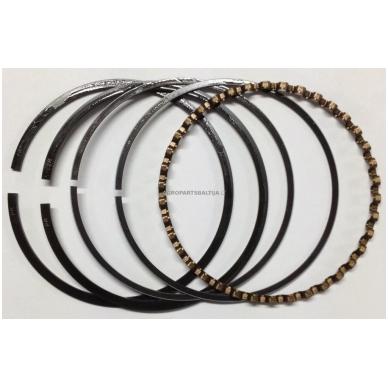 Stūmoklio žiedai Briggs & Stratton išmatavimai 87,80 mm (remontiniai +0,20) nuo 10AG iki 18AG 391782, 394961, 499998.