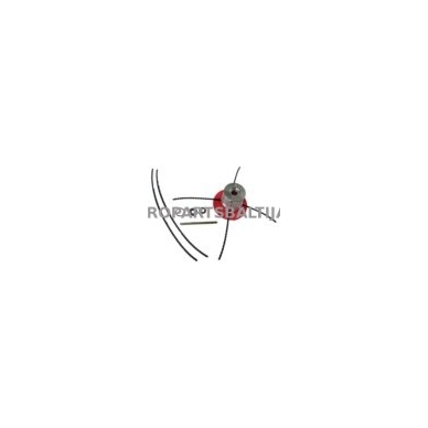 Universali aliuminė galva žoliapjovėms, skersmuo 55mm, valo storis 3,3 mm
