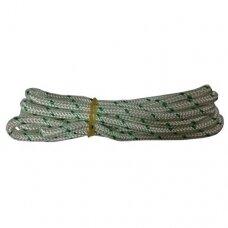 Užvedimo starterio virvė. Storis 4,50 mm ilgis 180 centimetrai
