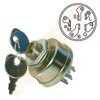 Uždegimo spynelė Stiga 3 pozicijų 5 kontaktų 1134-1814-01, 1134181401, ST1134-1814-01, ST1134181401