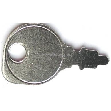 Užvedimo spynelės raktas traktoriukams universalus mažas
